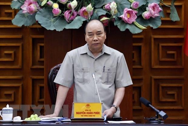 Le PM demande de prendre des mesures afin d'atteindre les objectifs socio-economiques hinh anh 1