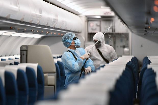 Coronavirus : Vietnam Airlines renforce ses mesures de prevention hinh anh 1