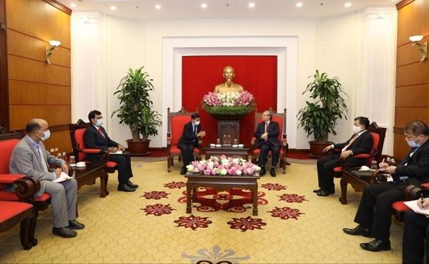 Le Vietnam souhaite renforcer son partenariat avec l'Inde hinh anh 1