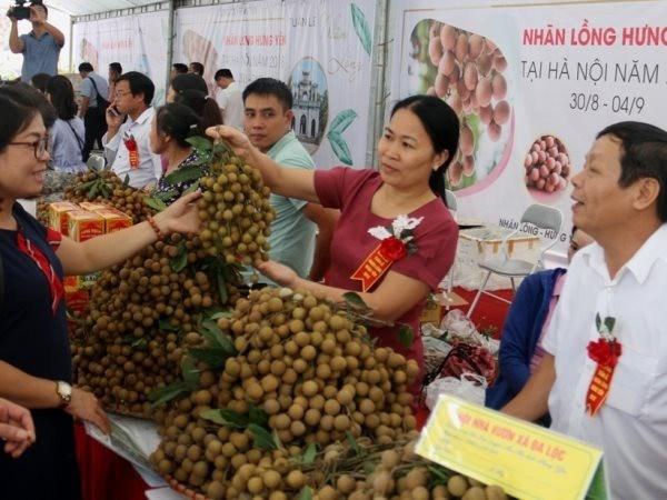 Hung Yen intensifie la promotion de ses produits agricoles hinh anh 1