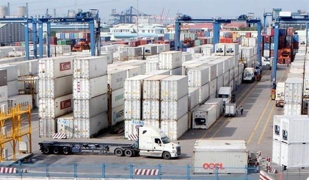 Le Vietnam enregistre un excedent commercial de 6,5 mds de dollars en 7 mois hinh anh 1