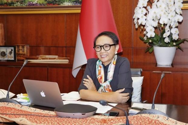 Mer Orientale: Washington et Jakarta soulignent l'objectif de respecter le droit international hinh anh 1
