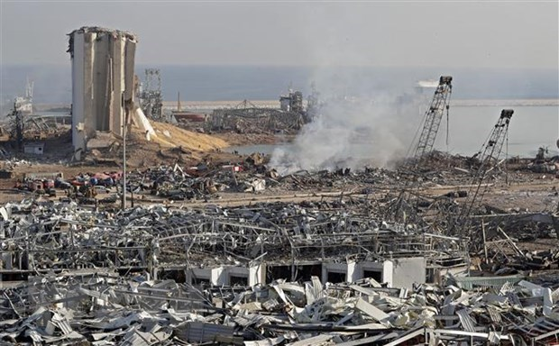Explosion a Beyrouth: la diplomatie vietnamienne presente ses condoleances aux victimes hinh anh 1