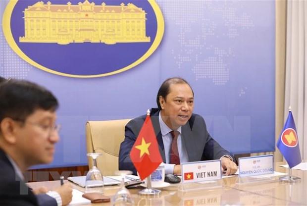 Le Vietnam participe au 33e dialogue ASEAN-Etats-Unis hinh anh 1
