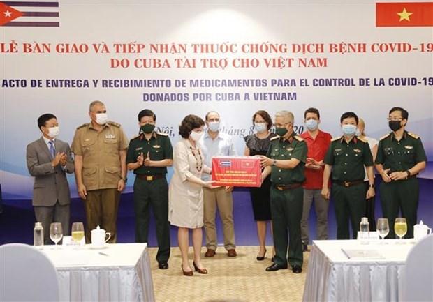 Cuba aide le Vietnam a lutter contre le COVID-19 hinh anh 1