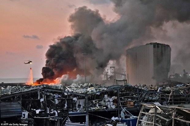 Explosion a Beyrouth: message de sympathie du Vietnam hinh anh 1