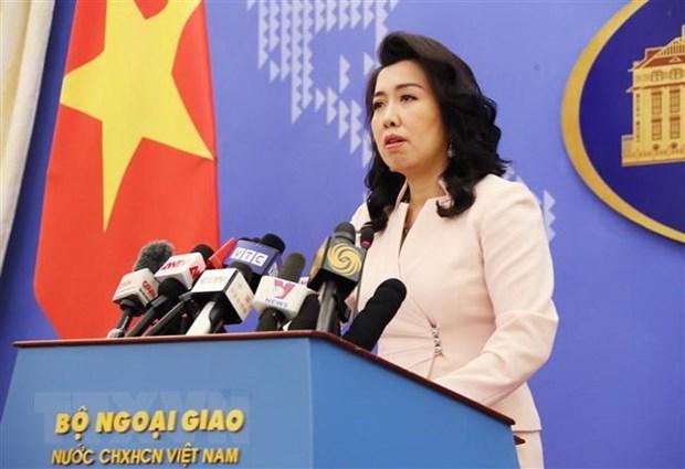 Toute activite a Truong Sa et Hoang Sa sans autorisation du Vietnam est depouvue de valeur hinh anh 1