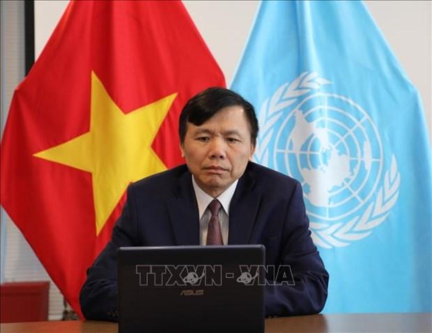 La Mission du Vietnam aupres de l'ONU fete l'anniversaire de l'ASEAN hinh anh 1