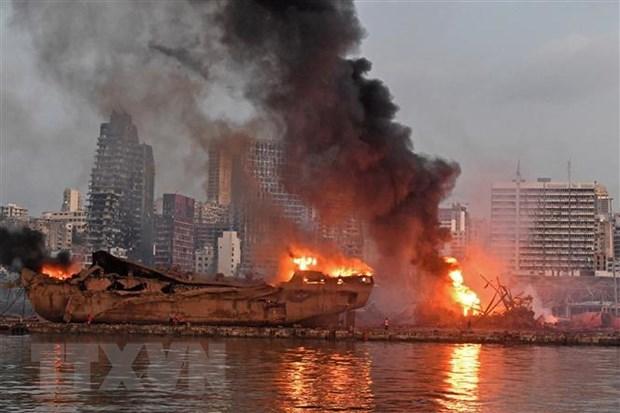 ASEAN : les ministres des AE publient une declaration sur l'explosion au Liban hinh anh 1