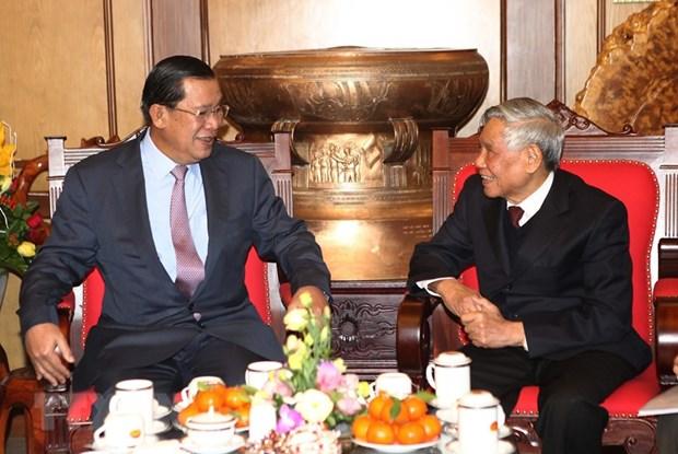 """L'ancien secretaire general Le Kha Phieu, """"dirigeant clairvoyant et bon ami du Cambodge"""" hinh anh 1"""