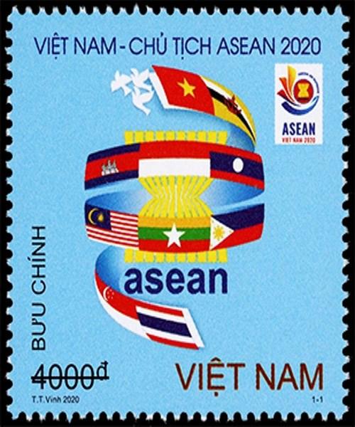 Emission du timbre «Vietnam: Bienvenue a l'ASEAN 2020» hinh anh 1