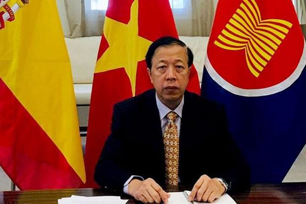 Le Vietnam appelle a la cooperation dans la lutte anticoronavirus hinh anh 1