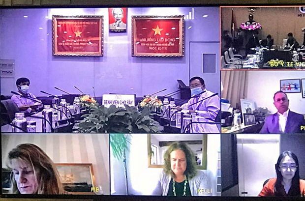 Visioconference Vietnam - Etats-Unis sur le traitement des maladies renales hinh anh 1