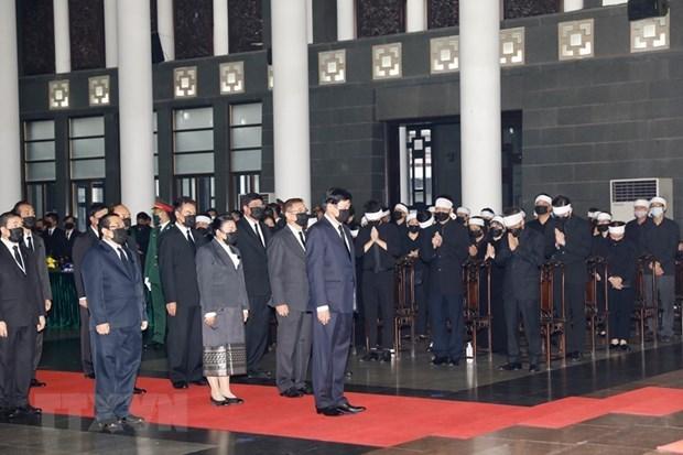 Pres de 660 delegations assistent au deuil national de l'ancien leader du PCV hinh anh 1