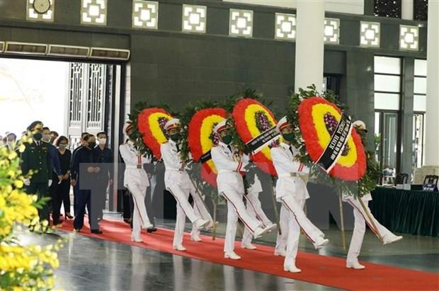 Des dirigeants etrangers adressent leurs condoleances pour le deces de l'ancien ledear du PCV hinh anh 1