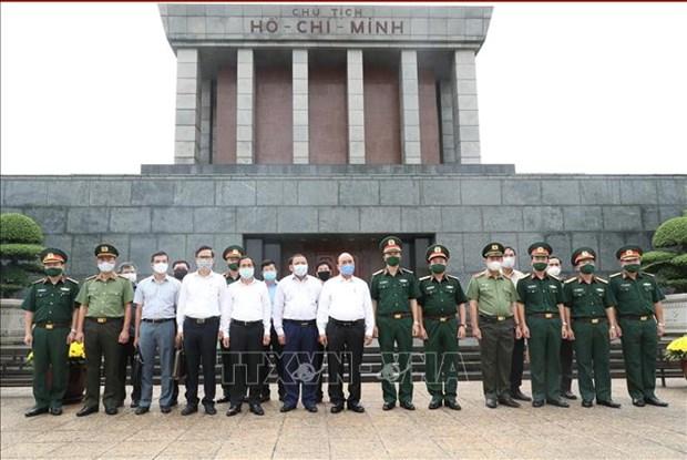 Le mausolee du President Ho Chi Minh sera rouvert le 15 aout hinh anh 1
