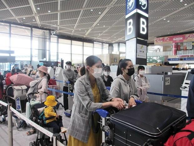 Vietnam Airlines rapatrie plus de 350 citoyens vietnamiens du Japon hinh anh 1