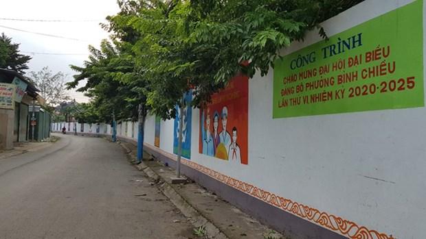 Quand d'anciens soldats se passionnent pour les peintures murales hinh anh 2