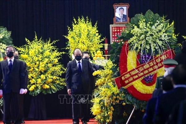 Le Vietnam rend un dernier hommage a l'ex-secretaire general Le Kha Phieu hinh anh 1