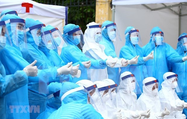 Coronavirus : le Vietnam rapporte un nouveau cas exogene et un autre deces hinh anh 1