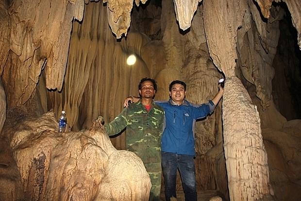 Une nouvelle grotte decouverte a Quang Tri hinh anh 1