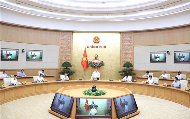 Le PM demande de redoubler d'efforts pour soutenir la reprise socio-economique hinh anh 1