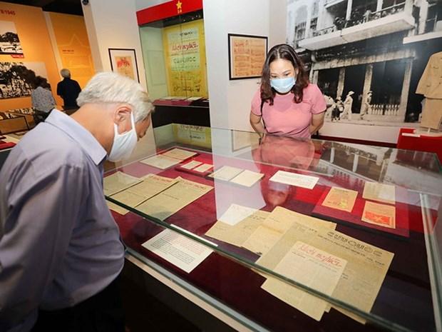 La «Journee de l'independance» au cœur d'une exposition a Hanoi hinh anh 1