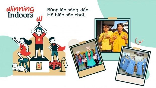 La campagne encourage les enfants a s'amuser a la maison dans le contexte du COVID-19 hinh anh 1