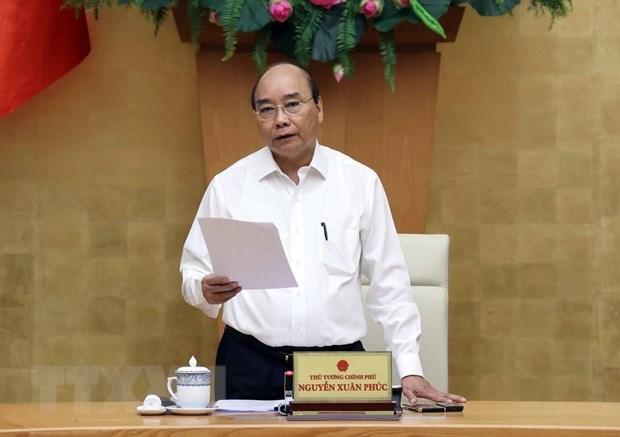 Le PM appelle au decaissement integral des investissements publics hinh anh 1