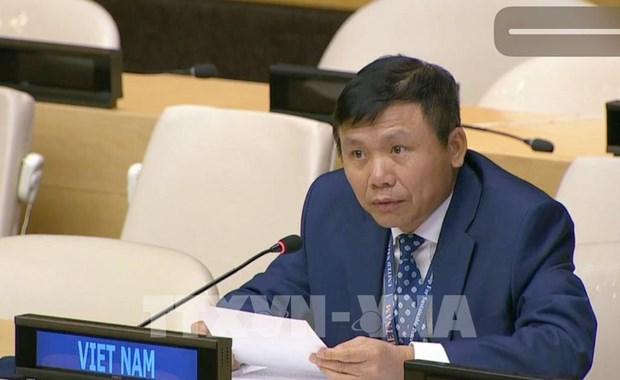 Le Vietnam preside le dialogue entre l'ASEAN et le president de la 75e AG de l'ONU hinh anh 1