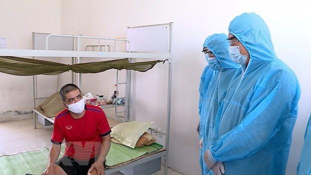 Cinq personnes supplementaires diagnostiquees avec le COVID-19 au Vietnam hinh anh 1