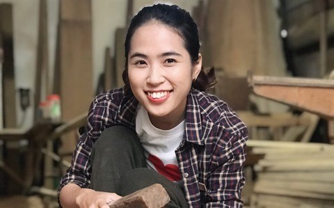 Start-up : le reve boise d'une fabricante hanoienne hinh anh 1