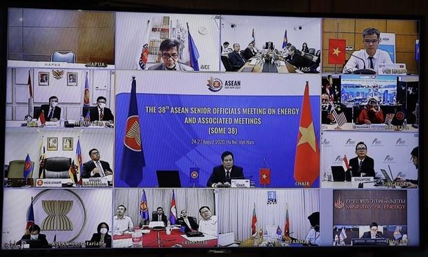 La 38e reunion des hauts officiels de l'ASEAN sur l'energie se tient en ligne hinh anh 1