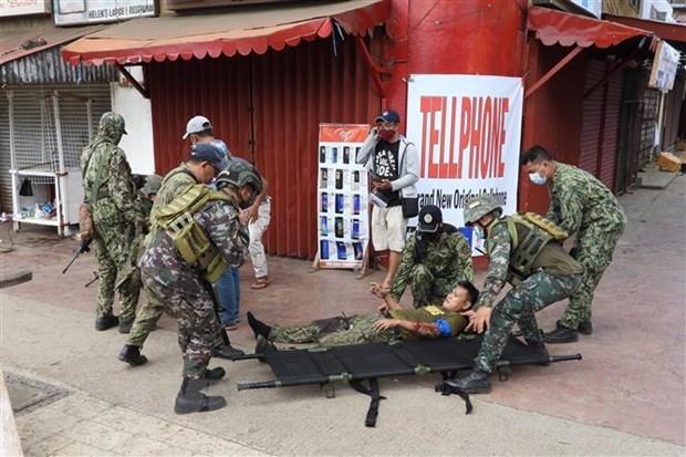 Le Vietnam denonce fermement le double attentat terroriste a la bombe aux Philippines hinh anh 1