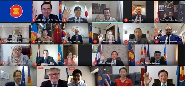 L'ASEAN et ses partenaires se reunissent sur la connectivite hinh anh 1