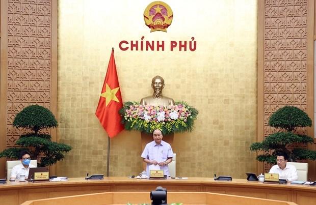 Le PM exhorte a atteindre la fourniture de 30% des services publics de niveau 4 hinh anh 1