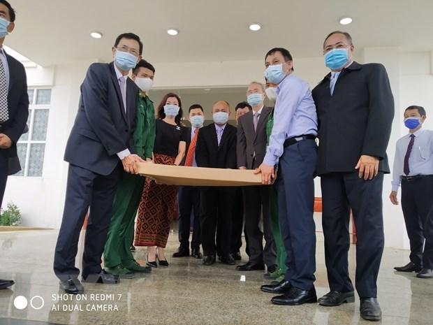 Cambodge: transfert de la carte topographique de la frontiere Cambodge-Vietnam aux organes concernes hinh anh 1