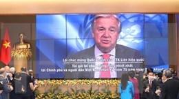 Le Secretaire general de l'ONU Antonio Guterres felicite le Vietnam a l'occasion de la Fete nationale hinh anh 1