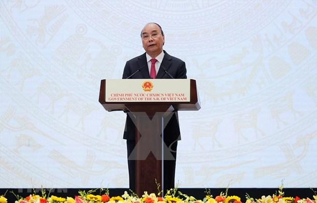 Le PM preside la ceremonie marquant le 75e anniversaire de la Fete nationale hinh anh 1