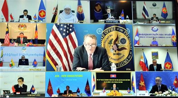L'ASEAN et les Etats-Unis continuent de favoriser les liens economiques hinh anh 1