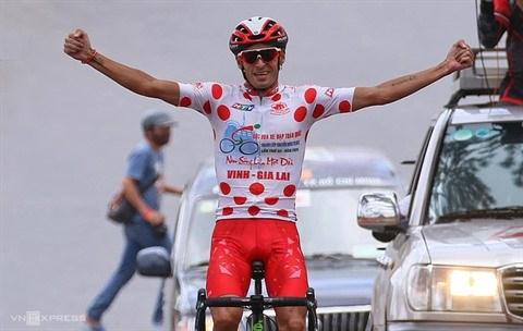 Javier, un coureur au grand cœur hinh anh 1