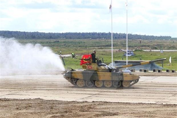 L'equipe de chars du Vietnam se qualifie pour les demi-finales des Jeux militaires internationaux 2020 hinh anh 1