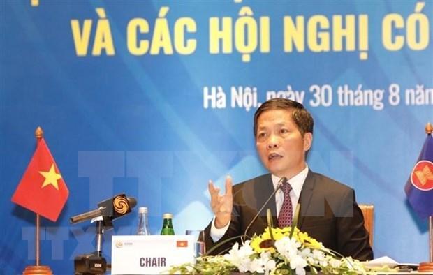 ASEAN 2020: point-presse sur la 52e conference des ministres de l'Economie hinh anh 1