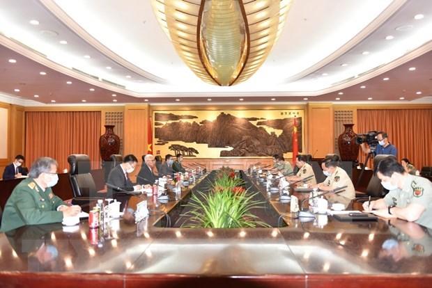 Le Vietnam et la Chine plaident pour un reglement adequat des differends en mer hinh anh 1