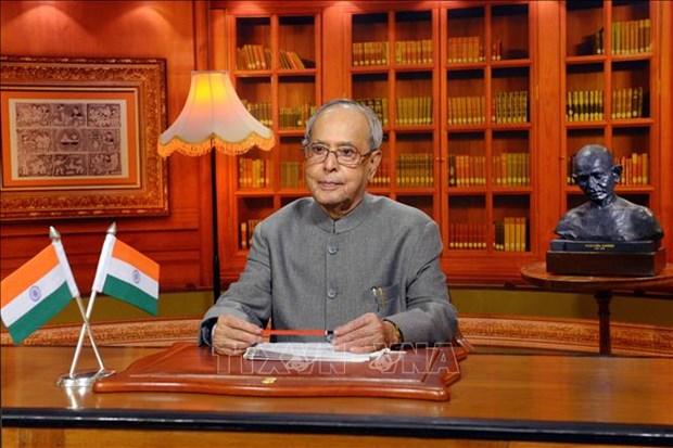 Condoleances suite au deces de l'ancien president indien Pranab Mukherjee hinh anh 1