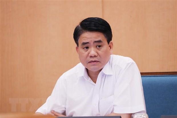 Nguyen Duc Chung est suspendu de ses fonctions de membre du Conseil populaire de Hanoi hinh anh 1