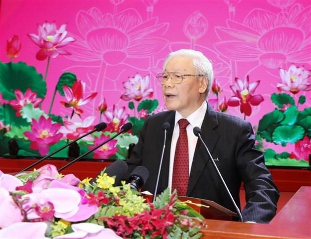 Le leader Nguyen Phu Trong ecrit aux enseignants et aux eleves a l'occasion de la rentree scolaire hinh anh 1