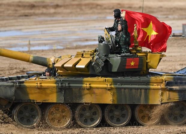 Army Games 2020: le Vietnam remporte la finale du groupe 2 hinh anh 1