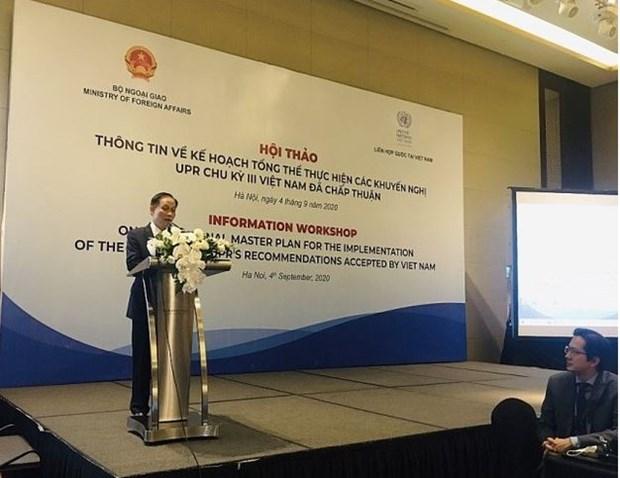 Droits de l'homme : la communaute internationale apprecie les efforts du Vietnam hinh anh 1