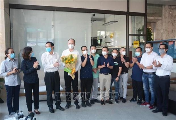Da Nang: adieu a l'equipe de medecins de Ho Chi Minh Ville hinh anh 1